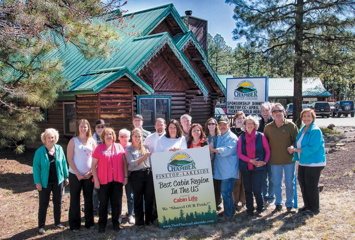 Pinetop-Lakeside Chamber of Commerce Best Cabin Region (image)