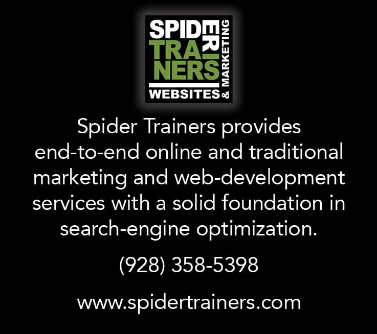 Spider Trainers ad (image)