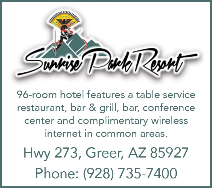 Sunrise Park Resort ad (image)