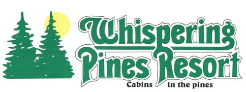 Whispering Pines Resort logo