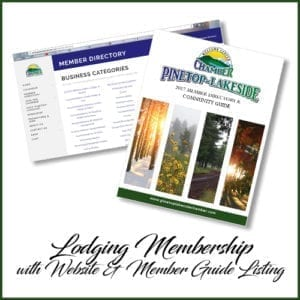 Pinetop-Lakeside Chamber of Commerce lodging membership (image)