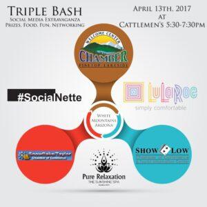 Show Low April 2017 Triple Bash flier (image)